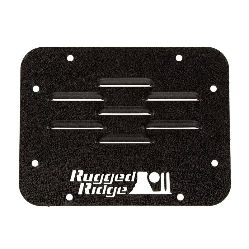 Rugged Ridge - Rugged Ridge 11586.10 Tire Carrier Delete Plate
