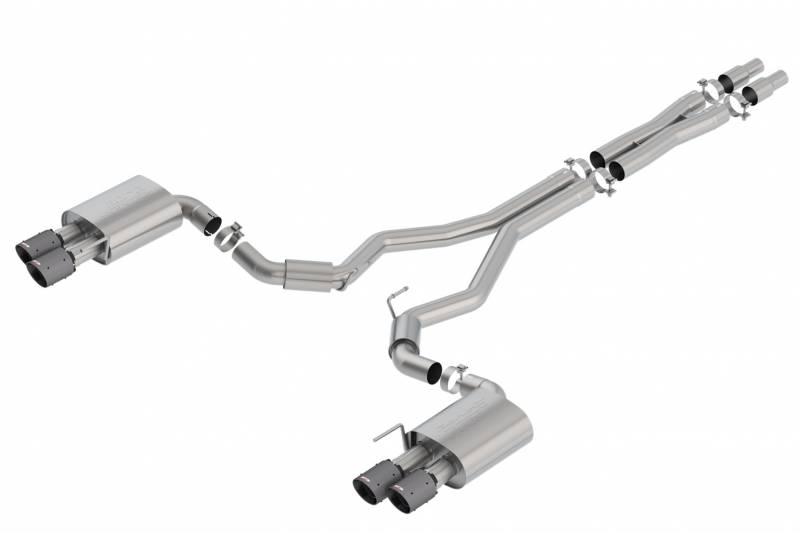 Borla - Borla 140745CFBA S-Type Cat-Back Exhaust System