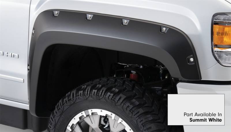 Bushwacker - Bushwacker 40974-14 Pocket Style Painted Fender Flares