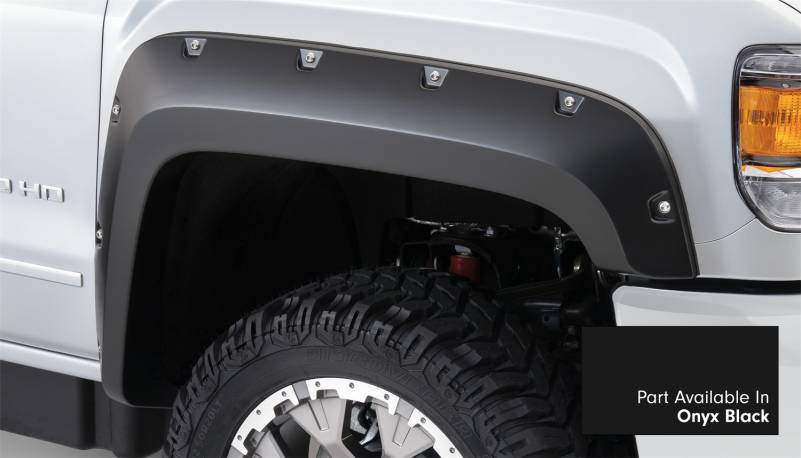 Bushwacker - Bushwacker 40974-34 Pocket Style Painted Fender Flares