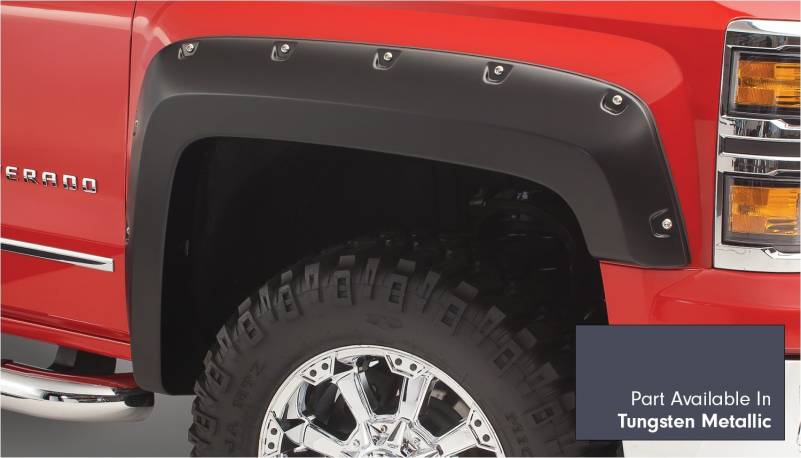 Bushwacker - Bushwacker 40974-64 Pocket Style Painted Fender Flares