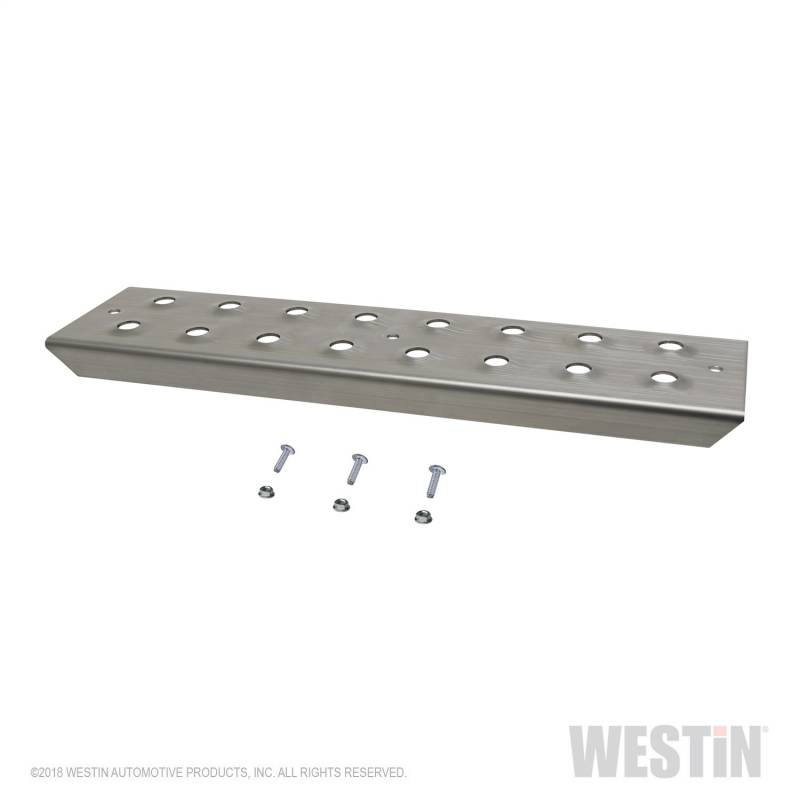 Westin - Westin 56-100015 HDX Stainless Drop Replacement Step Plate Kit