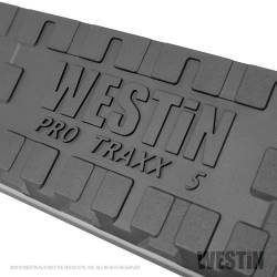 Westin - Westin 21-54060 PRO TRAXX 5 in. Oval Nerf Step Bars Cab Length - Image 4