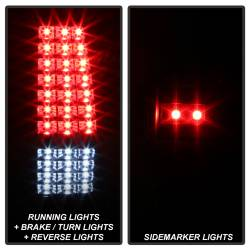 Spyder Auto - Spyder Auto 9037634 XTune LED Tail Lights - Image 2