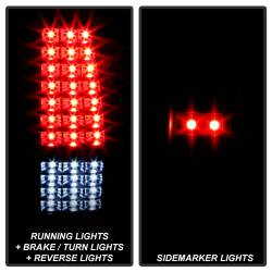 Spyder Auto - Spyder Auto 9037641 XTune LED Tail Lights - Image 2