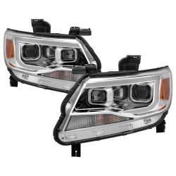 Spyder Auto - Spyder Auto 9039294 XTune DRL Light Bar Projector Headlights - Image 1