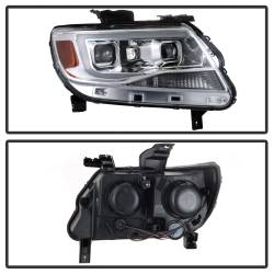 Spyder Auto - Spyder Auto 9039294 XTune DRL Light Bar Projector Headlights - Image 3