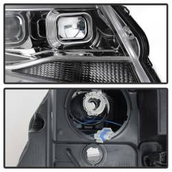 Spyder Auto - Spyder Auto 9039294 XTune DRL Light Bar Projector Headlights - Image 5
