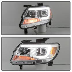 Spyder Auto - Spyder Auto 9039294 XTune DRL Light Bar Projector Headlights - Image 9