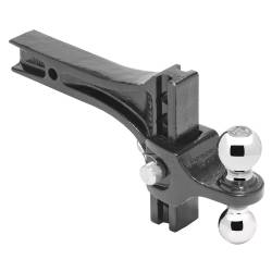 Draw-Tite - Draw-Tite 63071 Dual-Ball Trailer Hitch Ball Mount - Image 1