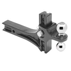 Draw-Tite - Draw-Tite 63071 Dual-Ball Trailer Hitch Ball Mount - Image 4
