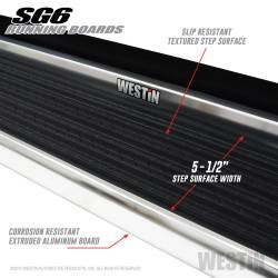 Westin - Westin 27-64720 Sure-Grip 6 Running Boards - Image 3