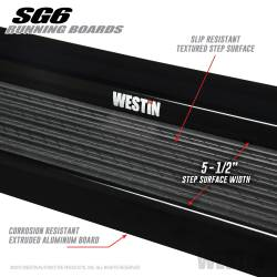 Westin - Westin 27-64745 Sure-Grip 6 Running Boards - Image 3